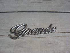 Эмблема багажника. Fiat Grande Punto