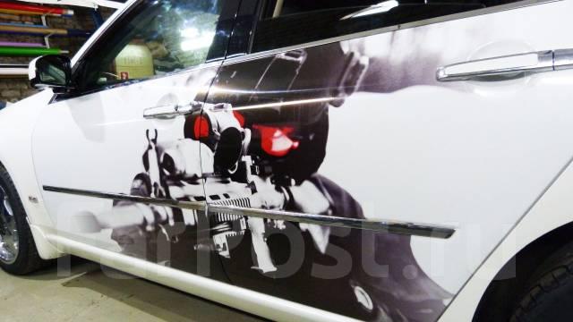 японские авто наклейки toyota на заднию дверь