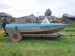 Казанка-5М4. Год: 2013 год, длина 4,60м., двигатель подвесной, 40,00л.с., бензин
