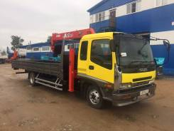 Isuzu Forward. Самогруз 2006г 5 тонн, 7 000 куб. см., 5 000 кг.
