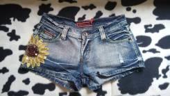Шорты джинсовые. 38, 40, 42