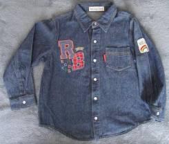 Рубашки джинсовые. Рост: 104-110 см
