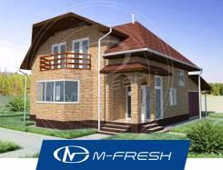 M-fresh Frankfurt-зеркальный (Витраж в гостиной с эркером). 100-200 кв. м., 1 этаж, 4 комнаты, кирпич