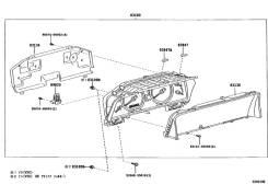 Лампа 14v, 0.8w панели приборов Toyota Land Cruiser Prado