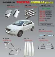 Накладка на стойку. Toyota Corolla, ZZE120, NZE121, ZZE120L