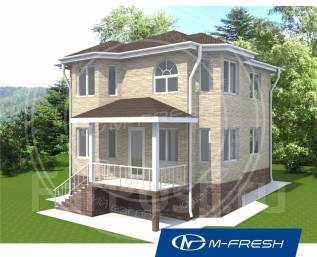 M-fresh Vlad style. 100-200 кв. м., 2 этажа, 5 комнат, дерево