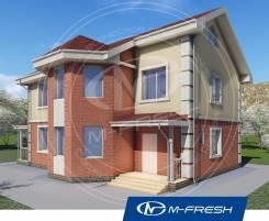 M-fresh Success plus (Доработанный проект-модификация дома! ). 200-300 кв. м., 2 этажа, 6 комнат, бетон