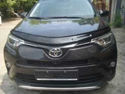 Дефлектор отбойник капота Toyota RAV4 / РАВ4 2012 - 2018. Toyota RAV4, ALA49, ALA49L, ASA42, ASA44, ASA44L, QEA42, XA40, ZSA42, ZSA42L, ZSA44, ZSA44L...