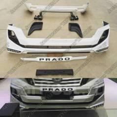 Обвес кузова аэродинамический. Toyota Land Cruiser Prado, GDJ150L, GDJ150W, GDJ151W, GRJ150, GRJ150L, GRJ150W, GRJ151, GRJ151W, TRJ12, TRJ150W, KDJ150...