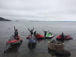 Аренда водных мотоциклов , быстроходного катера . 2 человека, 300км/ч
