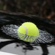 Наклейка теннисный мячик