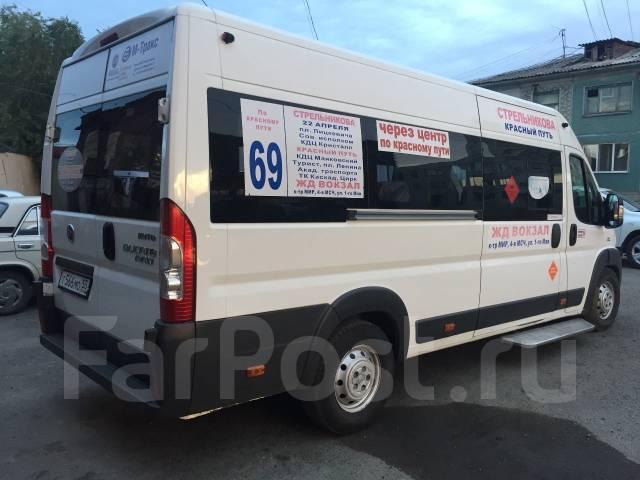 Fiat. Автобус фиат, 2 300 куб. см., 26 мест