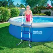 Лестницы и поручни для бассейнов. Под заказ