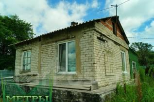 Продаётся дом с участком в п. Раздольное. Улица Лазо, дом 196, р-н Раздольное, площадь дома 40 кв.м., скважина, электричество 15 кВт, отопление тверд...