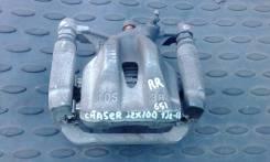 Суппорт тормозной. Toyota Chaser, JZX100 Двигатель 1JZGE