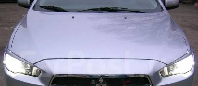 Накладка на фару. Mitsubishi Lancer, CY Двигатели: 4B11, 4B10, 4A91