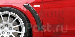 Накладка на крыло. Mitsubishi Lancer X