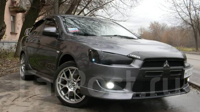 Обвес кузова аэродинамический. Mitsubishi Lancer, CY Двигатели: 4A91, 4B11, 4B10