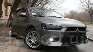 Обвес кузова аэродинамический. Mitsubishi Lancer X