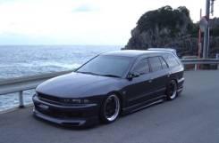 Накладка на бампер. Mitsubishi Galant