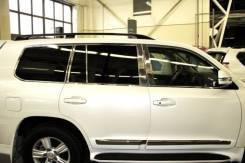 Молдинги окон (По кругу + стойки дверей) для Toyota Land Cruiser 200
