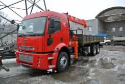 Kanglim KS1256G-II. Ford Cargo 2535 HR борт с КМУ , 9 000 куб. см., 7 000 кг., 23 м.