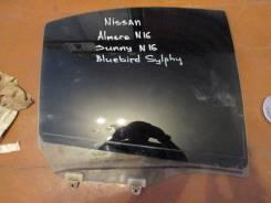 Стекло боковое. Nissan Bluebird Sylphy, QG10 Nissan Almera, B10RS, N16, N16E Nissan Sunny, JB15, FB15, B15, SB15, FNB15, QB15 Двигатели: QG16, YD22DD...
