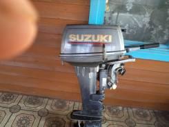 Suzuki. 15,00л.с., 2х тактный, бензин, нога L (508 мм), Год: 1997 год