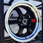 RAYS VOLK RACING. 7.5x17, 5x100.00, 5x114.30, ET30, ЦО 73,1мм.