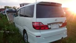 Дверь багажника. Toyota Alphard