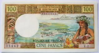 Франк Французской Полинезии.