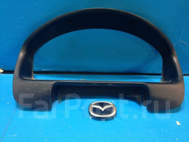 Консоль панели приборов. Mazda Protege Mazda Familia, BJ3P, BJ5P, BJ5W, BJ8W, BJEP, BJFP, BJFW Mazda 323 Двигатели: B3, B3ME, ZL, ZLDE, ZLVE