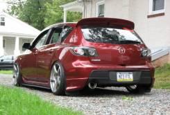 Спойлер. Mazda Mazda3, BK Двигатели: MZR, Z6, Y655, Y650, ZJVE, MZCD, Y601, L3VE, MZRCD, RF7J, LF17