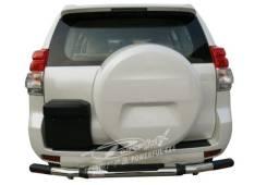 Защита бампера. Toyota Land Cruiser Prado