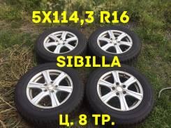 "Topy Sibilla. 6.5x16"", 5x114.30, ET53, ЦО 73,0мм."