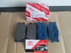 Колодка тормозная. Toyota RAV4, ACA38, ACA36, GSA33, ALA30, ACA30, ACA31, GSA38, ACA33 Toyota Sai, AZK10 Toyota Mark X, ANA15, GGA10, ANA10 Toyota Har...