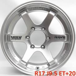 RAYS. 9.5x17, 6x139.70, ET20, ЦО 106,1мм.