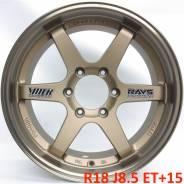 RAYS. 8.5x18, 6x139.70, ET15, ЦО 106,1мм.