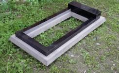 Плиты для установки надгробных памятников