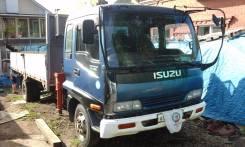 Isuzu Forward. Продам манипулятор . . птс таможня,, 8 200 куб. см., 5 000 кг.