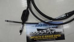 Трос ручного тормоза HD65 / MIGHTY D4DD / D4DB / D4GA 599105K600 / 599105L600 / 599105L001 / OEM