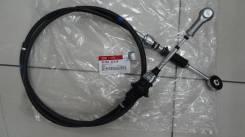 Трос КПП BONGO 437604E410 / 437604E310 MOBIS / SHIFT сдвигать / включать нейтраль L=2100 mm Чёрный