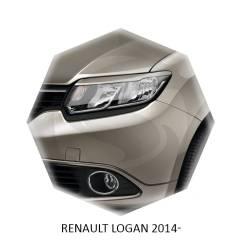 Накладка на фару. Renault Logan