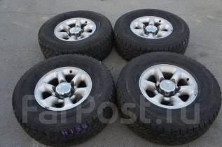 #Продам комплект колес, возможна отправка. 7.0x15 6x139.70 ET10 ЦО 110,0мм.
