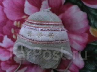 Шапка и шарф. Рост: 86-98, 98-104 см