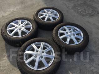 155/65 R13 Michelin X-Ice xi2 литые диски 4х100. 4.0x13 4x100.00 ET43