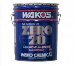 Wakos. Вязкость 0W-20, синтетическое