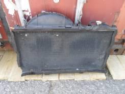 Радиатор охлаждения двигателя. Toyota Crown, JZS147 Двигатель 2JZGE