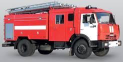 Камаз 43253. Автоцистерна Пожарная АЦ - 5,0 - 40 (КамАЗ - 43253) - 22ВР, 5 000,00куб. м.