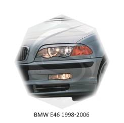 Накладка на фару. BMW 3-Series, E46, E46/2, E46/2C, E46/3, E46/4, E46/5